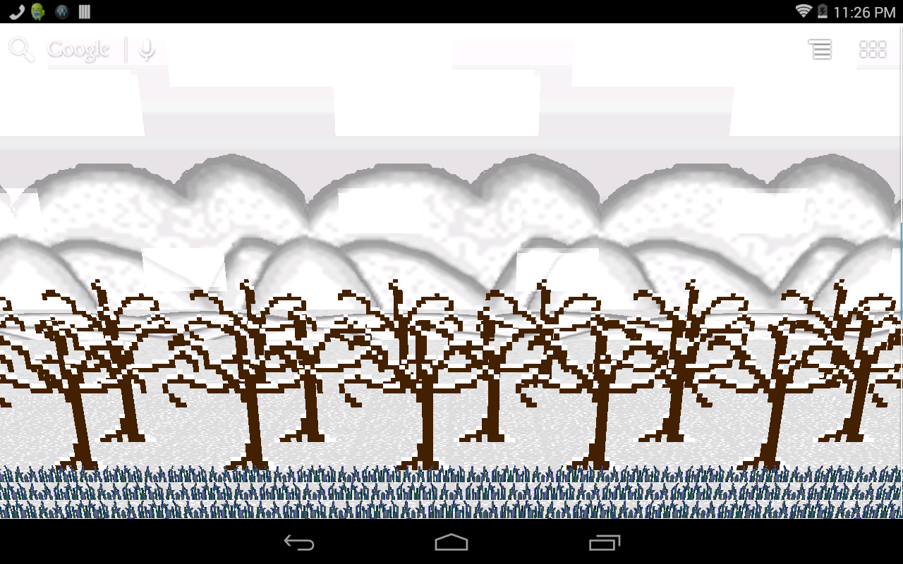 8-Bit Forest Wallpaper- screenshot