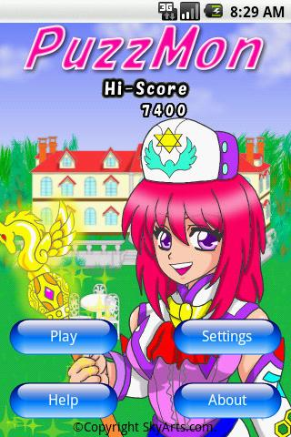 PuzzMon- screenshot