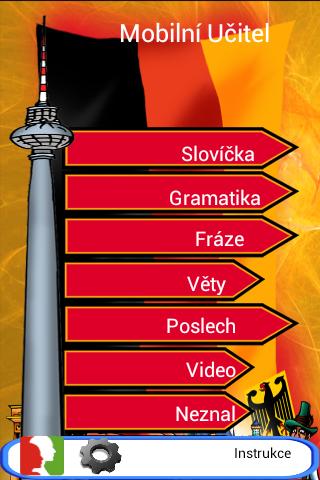 Němčina - Mobilní Učitel