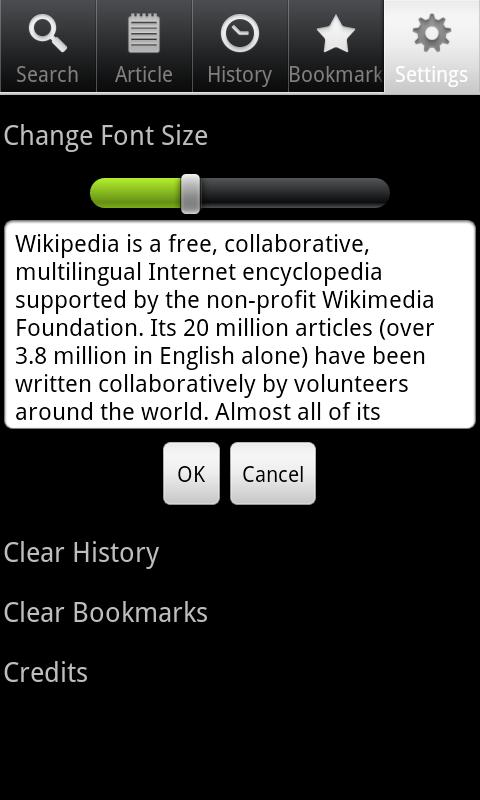 Wiki Encyclopedia Offline-Free - screenshot