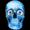 Terrific skull flames eyes LWP logo