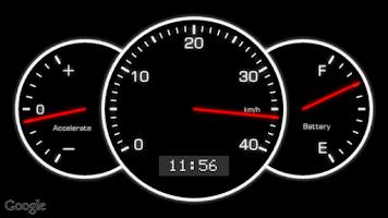 Screenshot of CycloMeter (Speedometer)