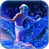3D angel live wallpaper