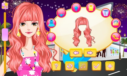 Babydoll Style Dress Up - screenshot thumbnail