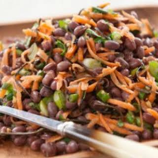 Zesty Adzuki Bean Salad.