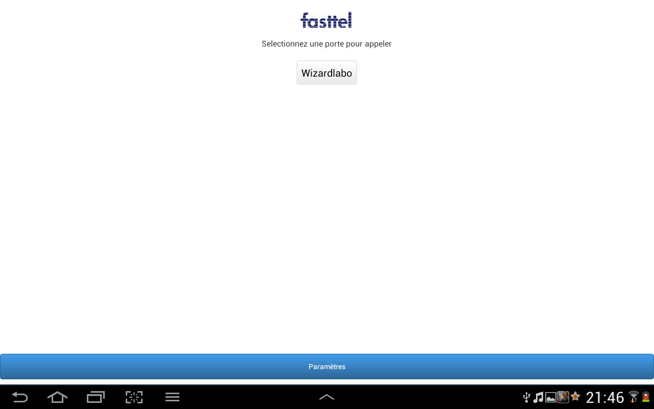 FasttelPhone - screenshot