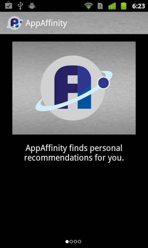 AppAffinity - App Discovery - screenshot