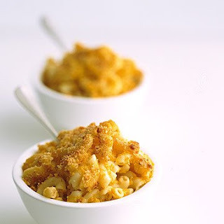 Macaroni and Cheese with Butternut Squash.