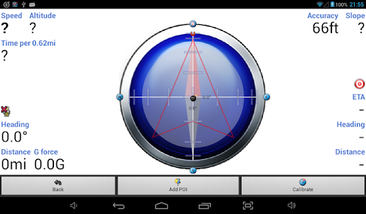 Tracky GPS Navigation +Compass- screenshot thumbnail