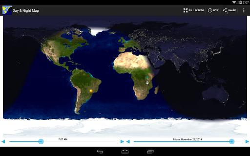 Day & Night Map  screenshots 5