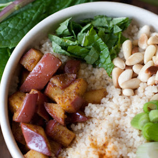 Curried Apple Couscous.