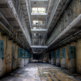 Just another day in prison by Greg Warnitz  - Buildings & Architecture Decaying & Abandoned ( urban, prison, lockup, decay, abandoned )