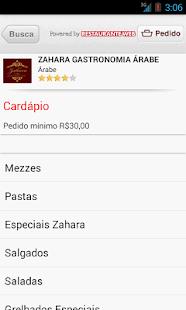 Zahara Gastronomia Árabe - screenshot thumbnail