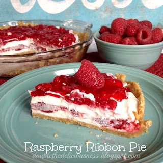 Raspberry Ribbon Pie & a Thanksgiving Pie Tradition