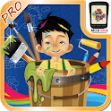 Kids Paint & Color Book - Pro icon