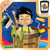 Kids Paint & Color Book - Pro