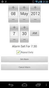 Maths Alarm Clock: miniatura de captura de pantalla