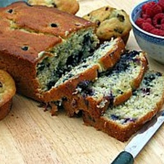 Banana- Blueberry Bread.