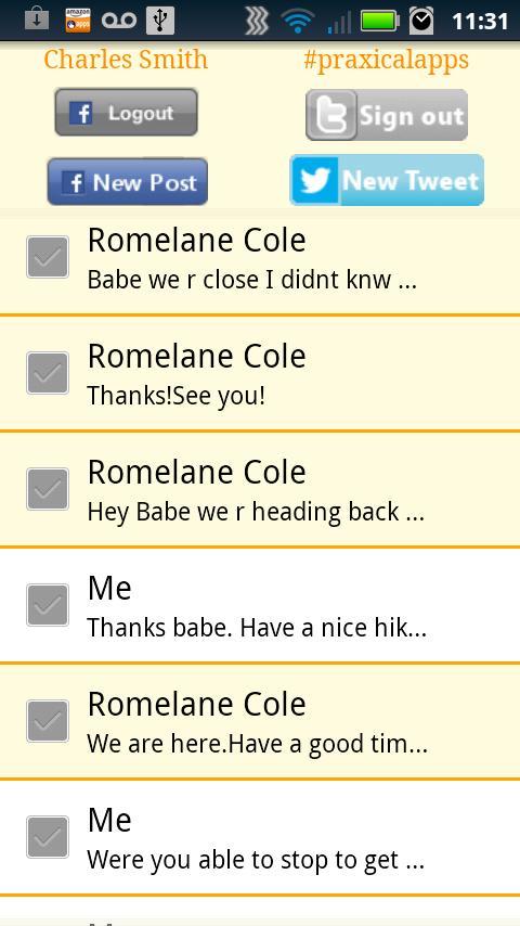 Social Text- screenshot