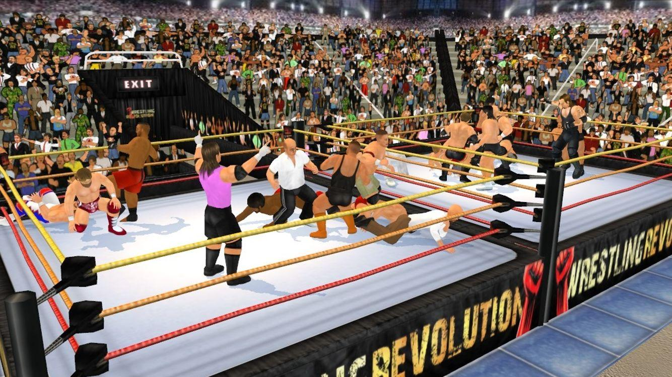 Screenshots of Wrestling Revolution 3D for iPhone