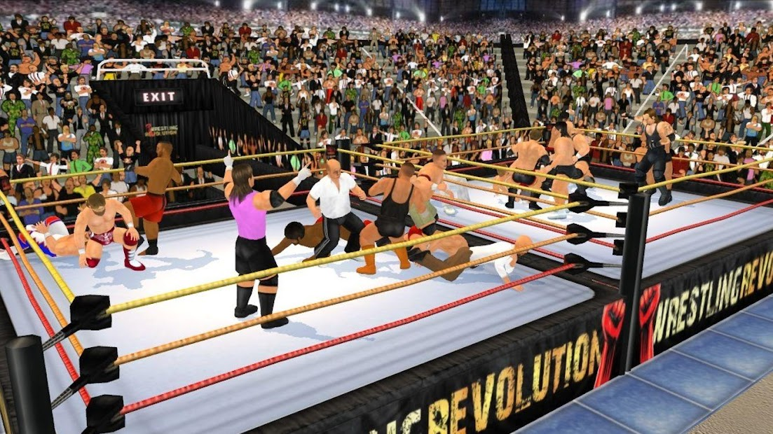 Wrestling Revolution 3D screenshot 19
