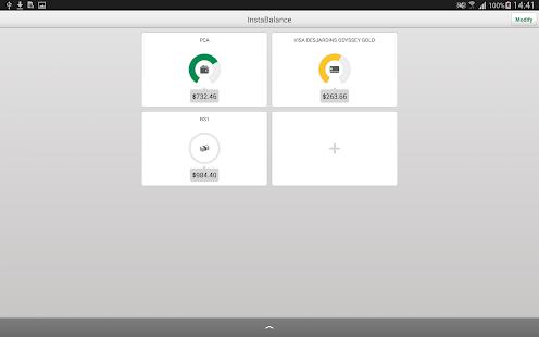 Desjardins mobile services - screenshot thumbnail