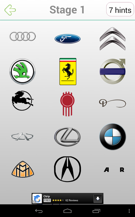 Logo Quiz Cars Android Apps On Google Play - Car sign with namesclick a car logo quiz
