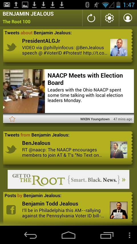 Benjamin Jealous: The Root 100 - screenshot
