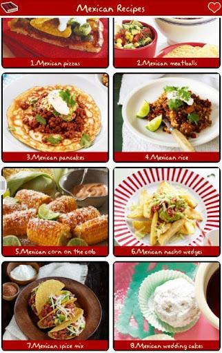墨西哥食譜免費 !