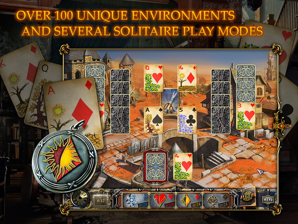 Solitaire: 4 Seasons HD (Full)- screenshot