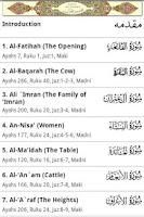 Screenshot of Tafsir Ibne Kathir (English)