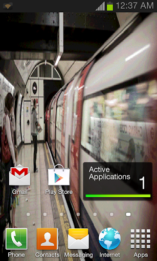 Which Way Train Live Wallpaper