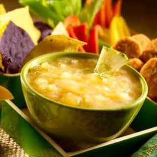 Creamy Pineapple-lime Dipping Sauce.