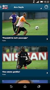 NTV Spor - Sporun Adresi Screenshot