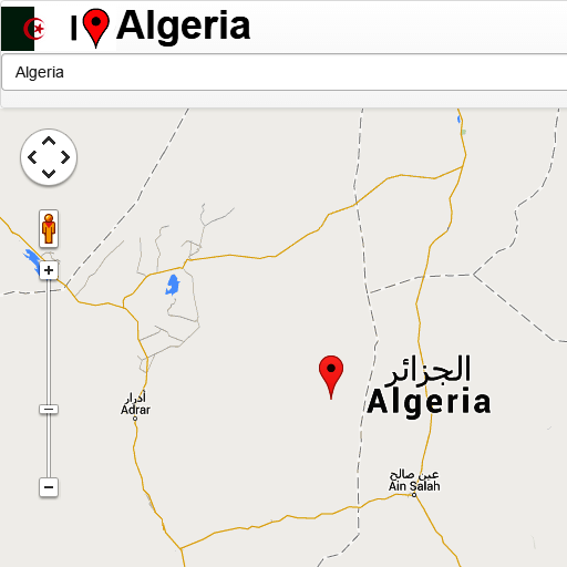 Algeria mapa