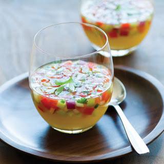 Chilled Pineapple Gazpacho