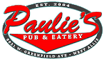 Logo for Crank The Radio at Paulie's Pub!
