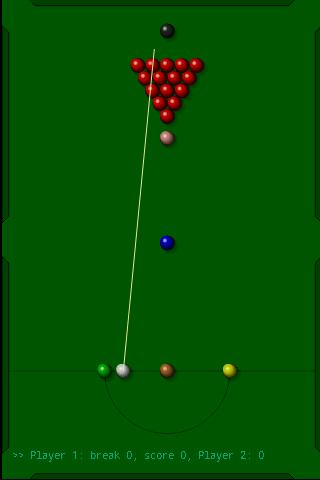 Snooker - screenshot