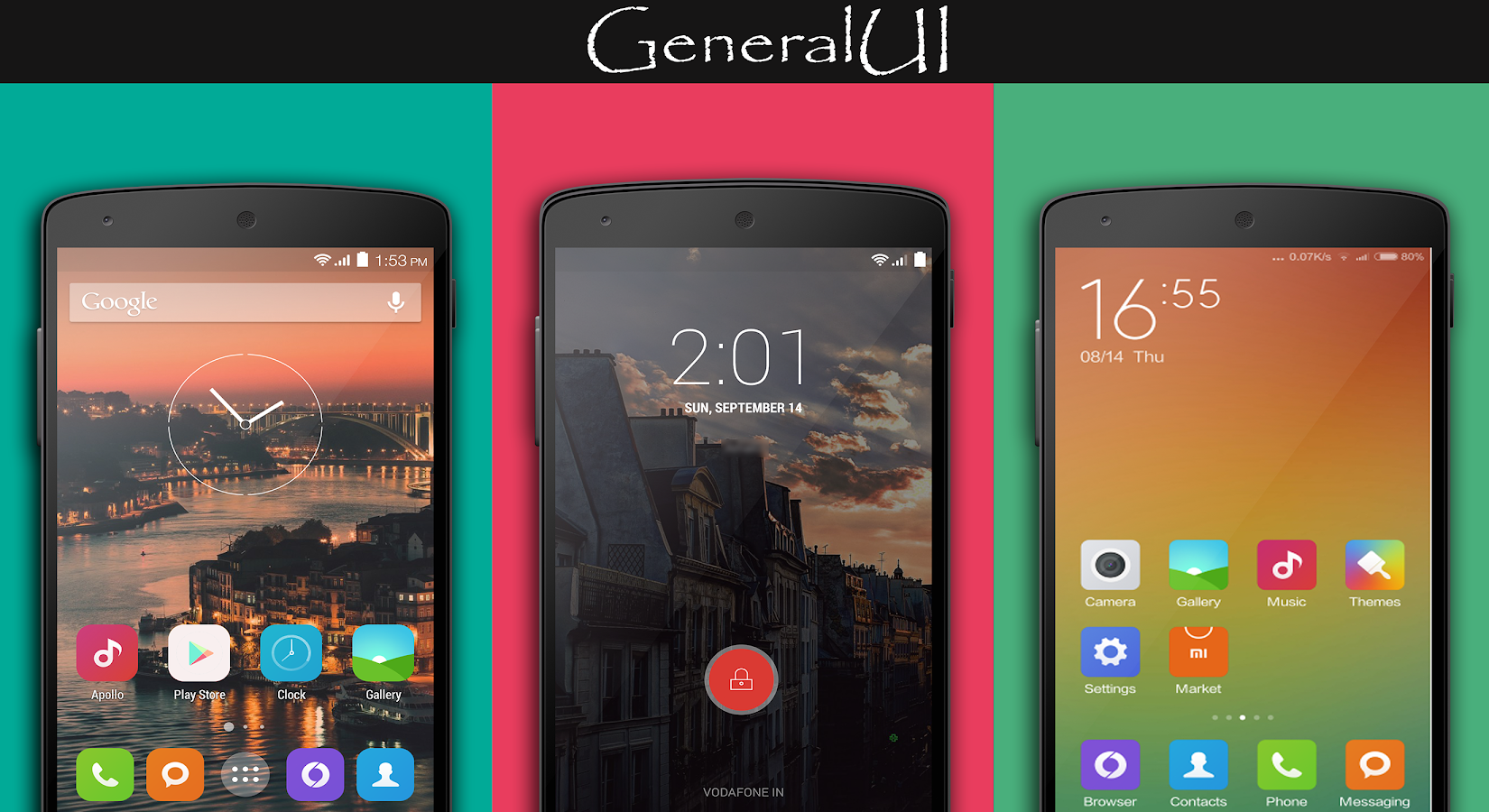 MIUI6 CM11/PA THEME - screenshot