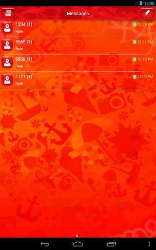 【免費娛樂App】GO短信加强版红色爱情-APP點子