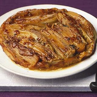 Upside-down Chicory Tart