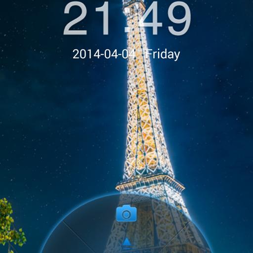 Eiffel Tower HD Locker Theme