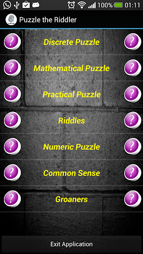 Puzzle the Riddler