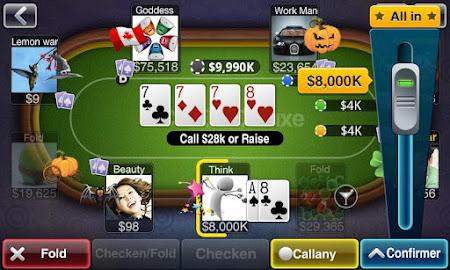 Texas Poker Deluxe Français 1.1.5 screenshot 7598