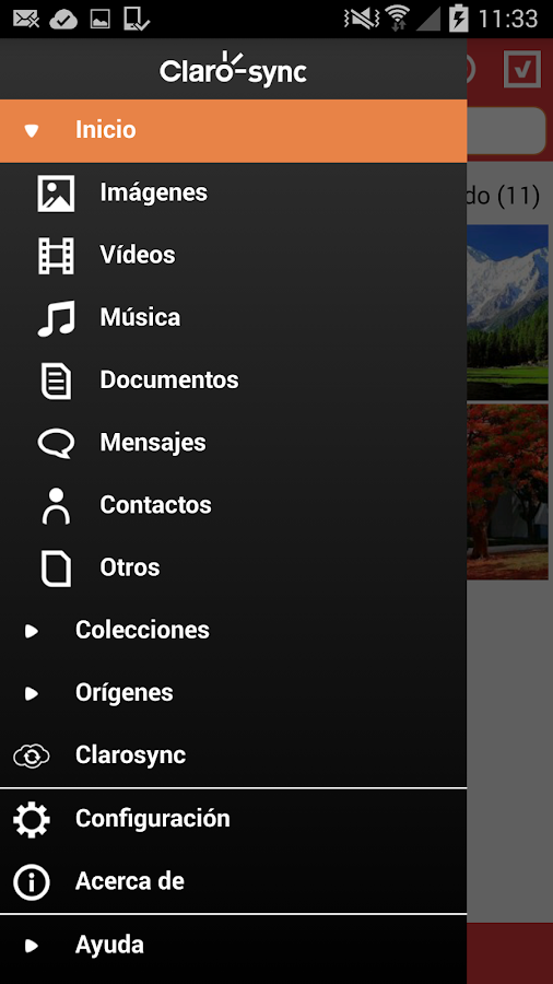 Clarosync - 5GB Gratis- screenshot