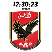 Al-Ahly Digital Clock