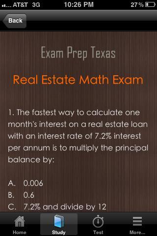 Texas Real Estate Exam Prep TX- screenshot