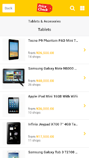PriceCheck Nigeria- screenshot thumbnail