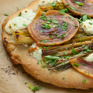 TT National | Focaccia with Braised Leeks, Goat Cheese and Pancetta