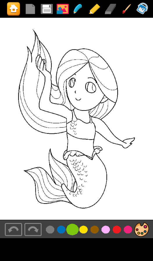 mermaids coloring games   android apps on google play